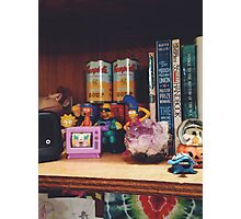 The Simpsons Toy Collection Photographic Print