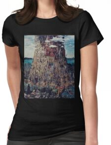 Let It Die Tower Of Barbs Womens Fitted T-Shirt