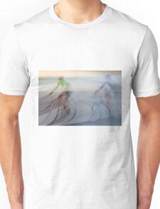 Cyclists, blurry Unisex T-Shirt