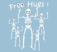 Free Hugs! (WHITE) Kids Clothes