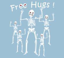 Free Hugs! (WHITE) Kids Clothes