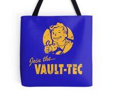 Join Vault-Tec Tote Bag