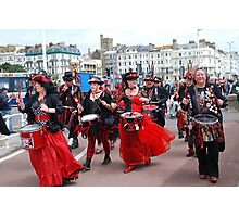 Section 5 drummers, St. Leonards Photographic Print