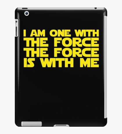 Rogue one quote iPad Case/Skin