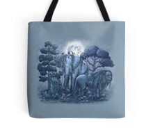 Midnight in The Stone Garden Tote Bag