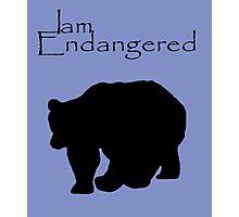 I am Endangered Photographic Print