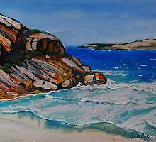 West Beach Esperance by Jen  Biscoe