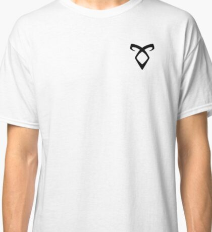 Shadowhunters Rune Black Classic T-Shirt