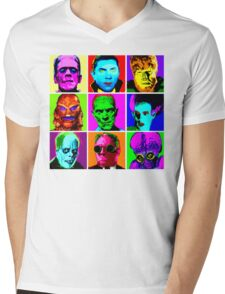 Universal Warhol Mens V-Neck T-Shirt