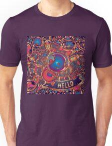 hello rabbit Unisex T-Shirt