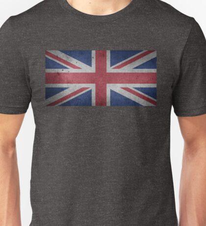 United Kingdom Flag Grunge Unisex T-Shirt