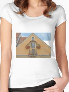 Colourful Balcony Women's Fitted Scoop T-Shirt