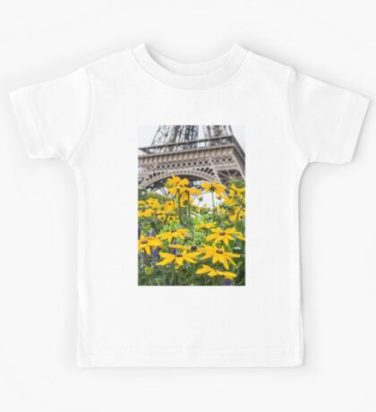 Eiffel Flower Kids Tee