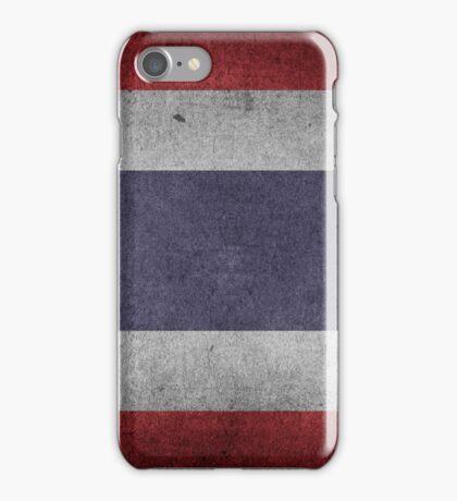 Thailand Flag Grunge iPhone Case/Skin