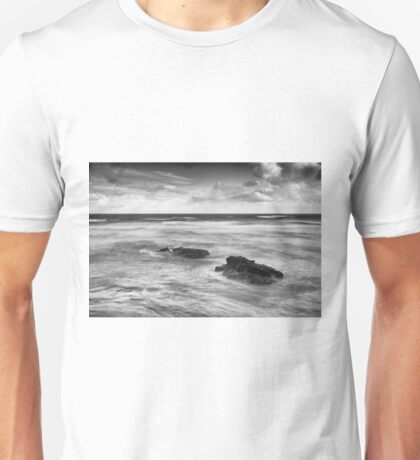 Rough Sea off Downhill Unisex T-Shirt