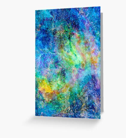 Iphone Watercolor Skin Greeting Card