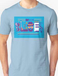 blues music artwork Unisex T-Shirt
