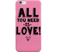 The Beatles All You Need is Love  iPhone Case/Skin