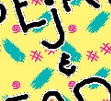 ToeJam & Earl (Genesis Title Screen) Sticker