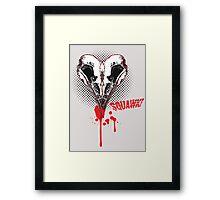 I heart sQuawk! (comic) Framed Print