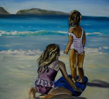 Surf Chics by Jen  Biscoe