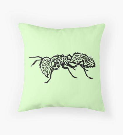 Anti Ant Throw Pillow