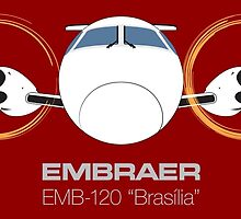 Embraer 120 Brasília by Downwind