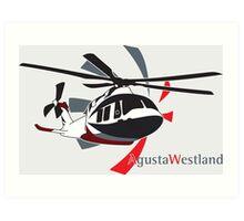 AgustaWestland AW169 Art Print