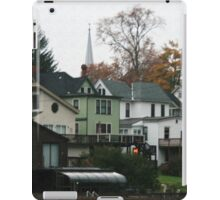 The Quiet Of A Fall Morning  iPad Case/Skin