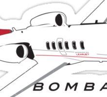 Learjet Sticker