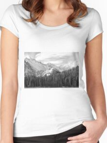 These Mountains Women's Fitted Scoop T-Shirt