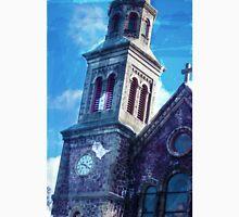 Watercolor Church Unisex T-Shirt