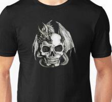 Dragon and Skull T-shirt Unisex T-Shirt