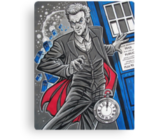 """The Twelfth Doctor (""""All Thirteen!"""") Canvas Print"""