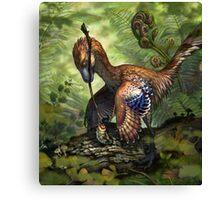 Jinfengopteryx elegans Canvas Print