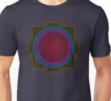 LED Lights Sri Chakra Unisex T-Shirt