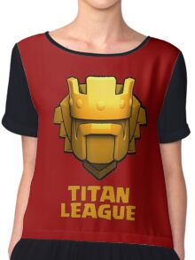 Titan League Chiffon Top