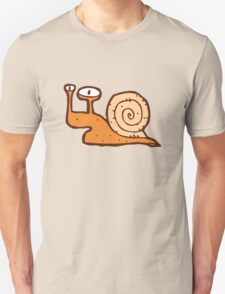 Cute funny cartoon snail Unisex T-Shirt