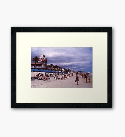 Myrtle Beach 1985 Framed Print