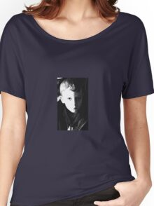 BOY IN THE SHADOWS Women's Relaxed Fit T-Shirt