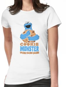 Cookie Monster - Cookie Hug Variant Womens Fitted T-Shirt