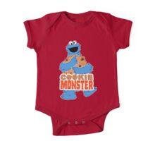 Cookie Monster - Cookie Hug One Piece - Short Sleeve