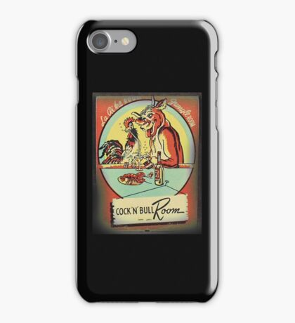 cocky and bully inn iPhone Case/Skin