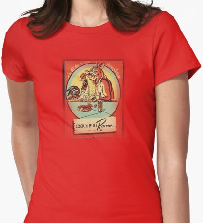 cocky and bully inn Womens Fitted T-Shirt