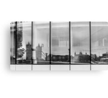 Tower Reflection Canvas Print