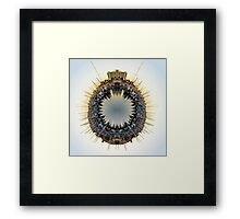 Marina World Framed Print