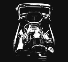 1932 Hot Rod #5 (B&W) by blulime