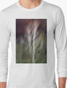 Impressionistic birch Long Sleeve T-Shirt