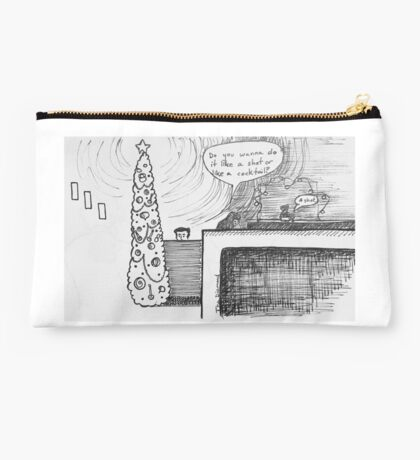 Reportage Sketch: The Diamond 12-23-16 Studio Pouch
