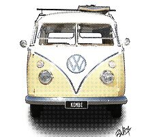 Kombi - News Print #2 by blulime